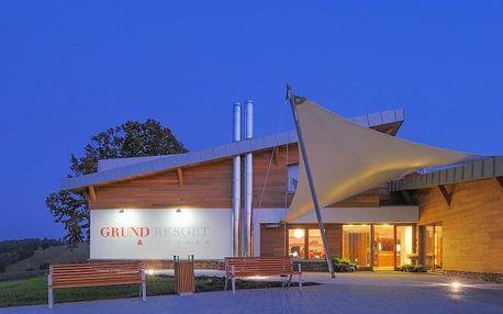 Krkonoše: Grund Resort Golf & Ski **** s neomezeným wellness, slevovou kartou, golfovým hřištěm a polopenzí