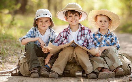 Venkovní dobrodružné hry pro děti i celé rodiny