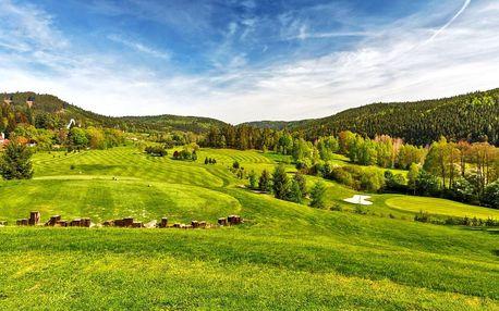 Golfový pobyt s neomezeným golfem v Karlových Varech v Cihelny Golf & Wellness…