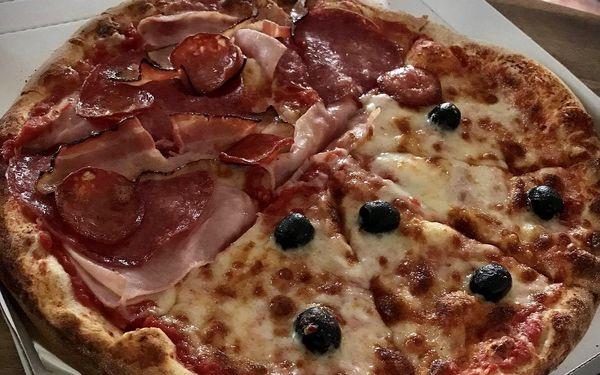 1× italská pizza (ø 32 cm) dle výběru, odnos s sebou5