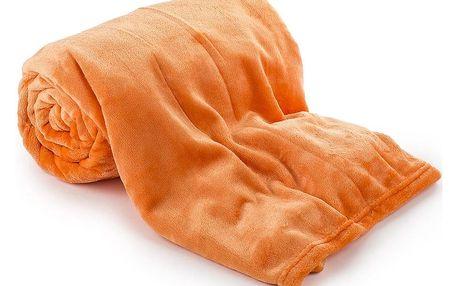 Jahu Deka Light Sleep New oranžová, 150 x 200 cm