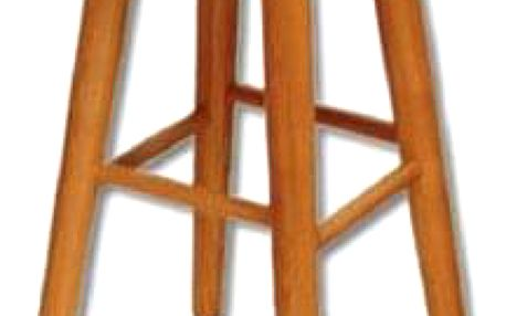 Barová stolička KT242 masiv dub