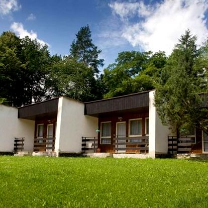 Letní dovolená v bungalovu u Vranovské přehrady