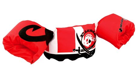 Plovací top SEVYLOR plaváček červený - pirát
