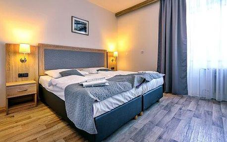 Pobyt na Lipně jen 300 m od přehrady v Hotelu Swing *** s tenisem a polopenzí + dítě do 5 let zdarma