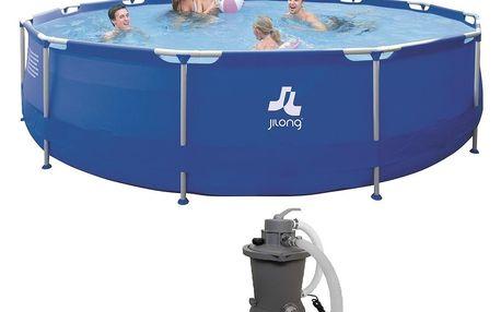 Bazén Sirocco Blue 420 x 84 cm set s pískovou filtrací