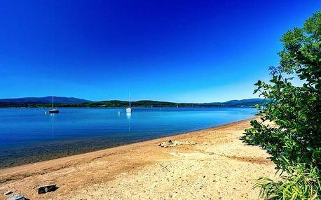Pobyt na Lipně jen 300 m od přehrady v Hotelu Swing *** s bazénem, vlastní pláží, tenisem a polopenzí