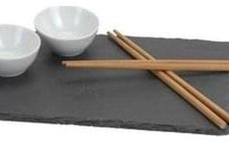 7dílná sushi sada Obdélník