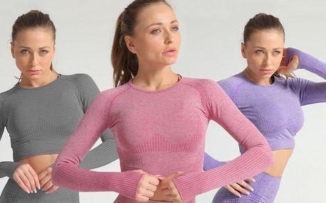 Dámská sportovní trika na běh, jógu i posilování