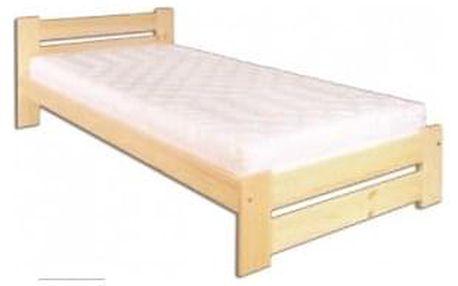 Dřevěná postel 80x200 LK146 borovice