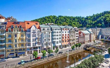 Karlovy Vary: Hotel Dvořák Spa & Wellness **** s bazénem a animačním programem pro děti + pitná kúra a snídaně