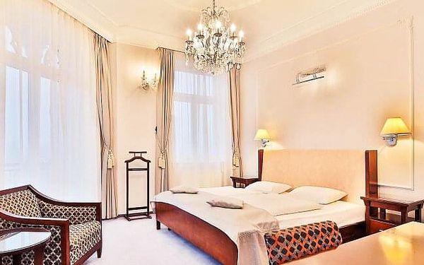 Mariánské Lázně přímo v centru v Hotelu Sun Palace Spa & Wellness **** s bazénem, procedurami a snídaněmi