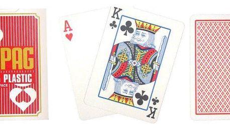 Copag Regular 2078 Poker karty 2 rohy červené