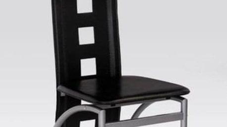 Kovová židle K4 M černá