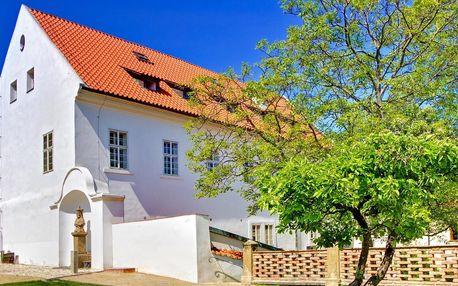 Pobyt v Praze: hotel v zahradě Strahovského kláštera