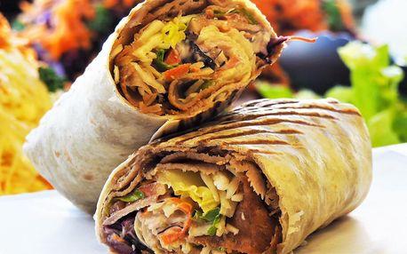 Kebab v tortille či pitě: malý, velký i XXL