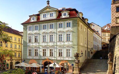 Až osmidenní pobyt pod Pražským hradem se snídaní