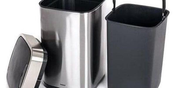 Banquet Koš odpadkový bezdotykový SENZO 25 l, hranatý5