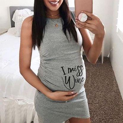 Těhotenské šaty Willia