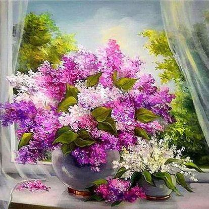 5D obrázek - květiny