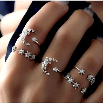 Sada prstýnků Ladia