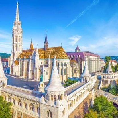 Budapešť přímo v centru města v A&O Budapest City se snídaněmi formou bufetu + 2 děti do 18 let zdarma