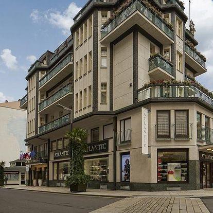 Relaxační pobyt v Karlových Varech v Hotelu Atlantic Palace s plnou penzí