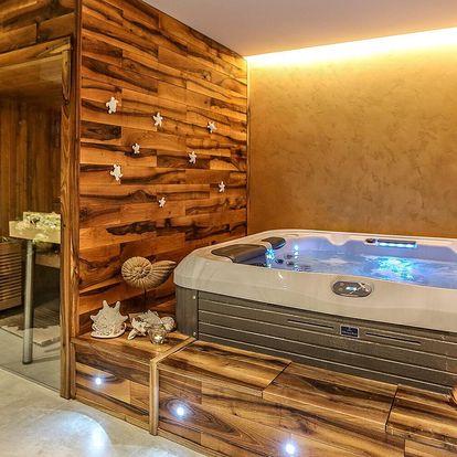 Pobyt v apartmánech: privátní wellness a polopenze