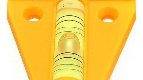 Univerzální žlutá mini vodováha