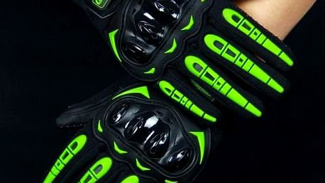 Motorkářské rukavice ZR4