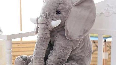 Plyšový slon - 60 cm