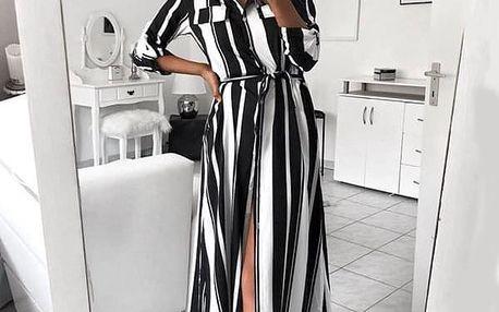 Dámské šaty s dlouhým rukávem Logistilla