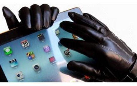 Zimní rukavice pro dotykové obrazovky