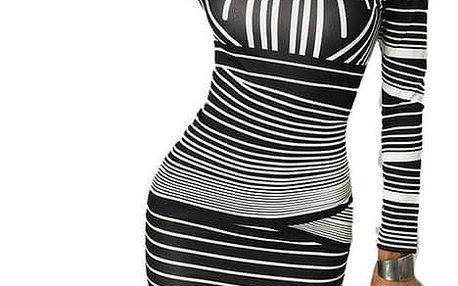 Dámské šaty s dlouhým rukávem Miah