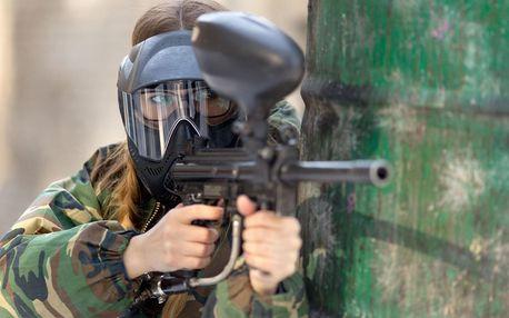 Zažijte adrenalin: paintball na tankodromu