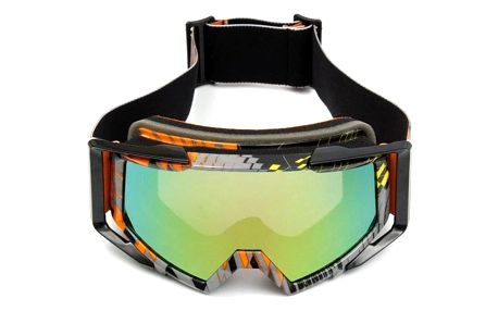 Univerzální motokrosové brýle – barevné