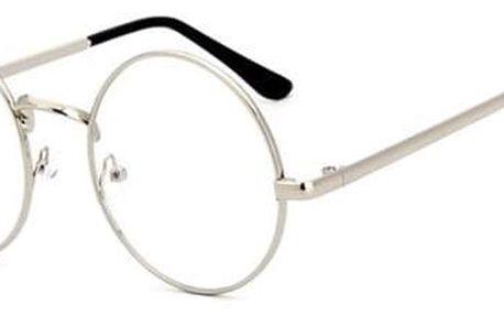 Retro brýle s čirými skly