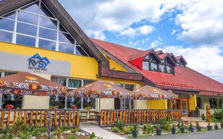 Hotel Rysy *** pod Tatrami s polopenzí