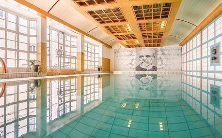 Karlovy Vary přímo v centru: Hotel Dvořák Spa & Wellness **** s bazénem, procedurami, pitnou kúrou a snídaní