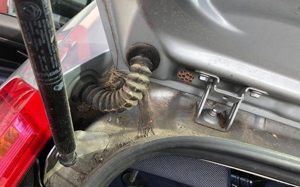 Rychločištění vnitřku auta4