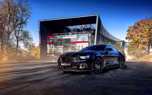15 min (15 km) jízda ve Ford Mustang GT 5.0 jako řidič bez paliva5