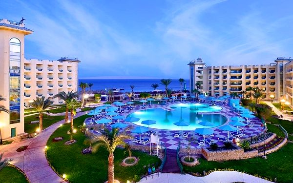 HOTELUX MARINA BEACH, Hurghada, letecky, all inclusive