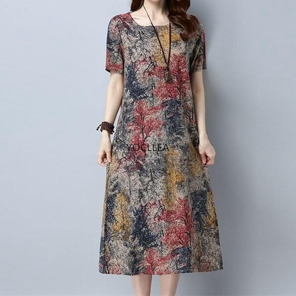 Dámské midi šaty Lerra