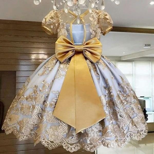 Dívčí šaty Ginny