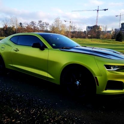 Pronájem supersportu Chevrolet Camaro 2018