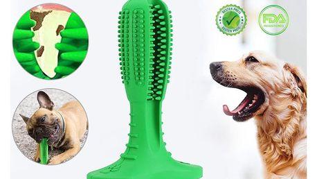 Silikonový kartáček pro psy