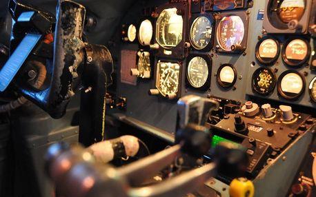 Simulátor dopravního letadla Douglas