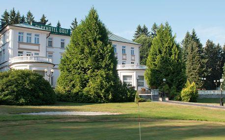 4* relax v Mariánkách: procedury, jídlo i golf