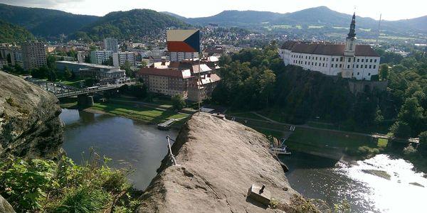 Kurz Via ferrata lezení s teorií Děčín4