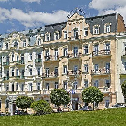 Rodinná dovolená v hotelu Paris 2+2, Mariánské Lázně